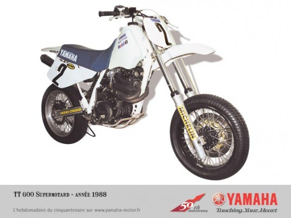 Yamaha TT supermotard