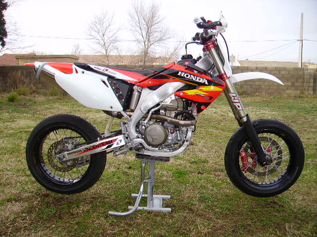 honda cr 125 supermotard occasion. Black Bedroom Furniture Sets. Home Design Ideas