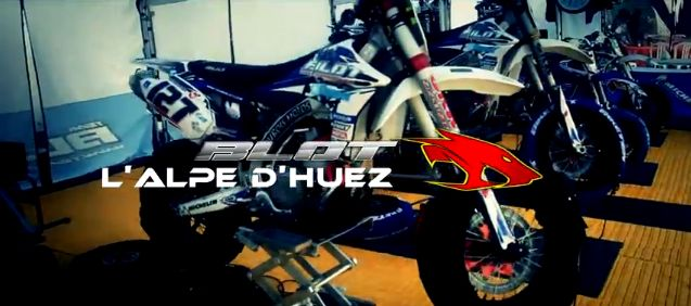 VIDEO : TEAM BLOT – CDF Supermotard 2012 – Alpe d'Huez