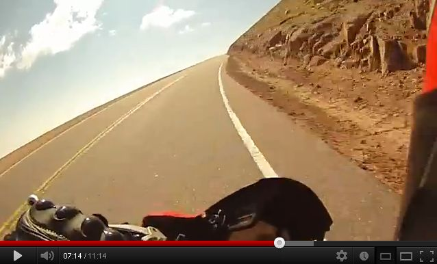 VIDEO : Pikes Peak en Ducati Multistrada