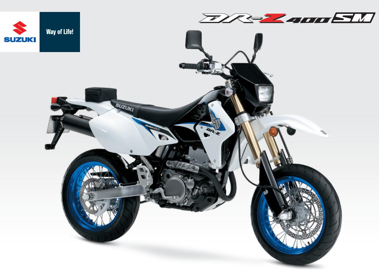 Accueil / Une Suzuki 400 DRZ 2013 ?