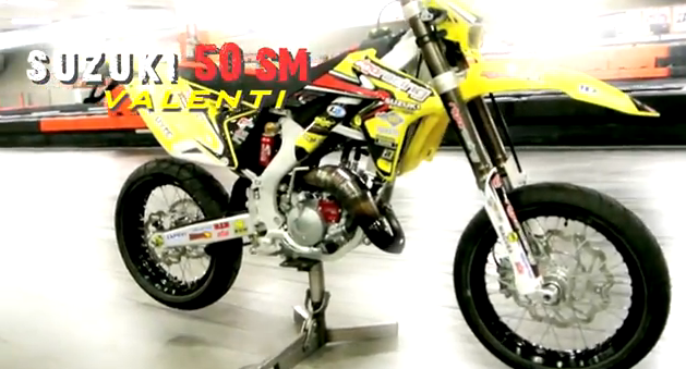 VIDEO: Suzuki 50 SM Valenti