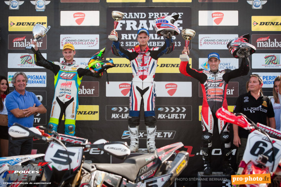 Podium Supermoto Rivesaltes