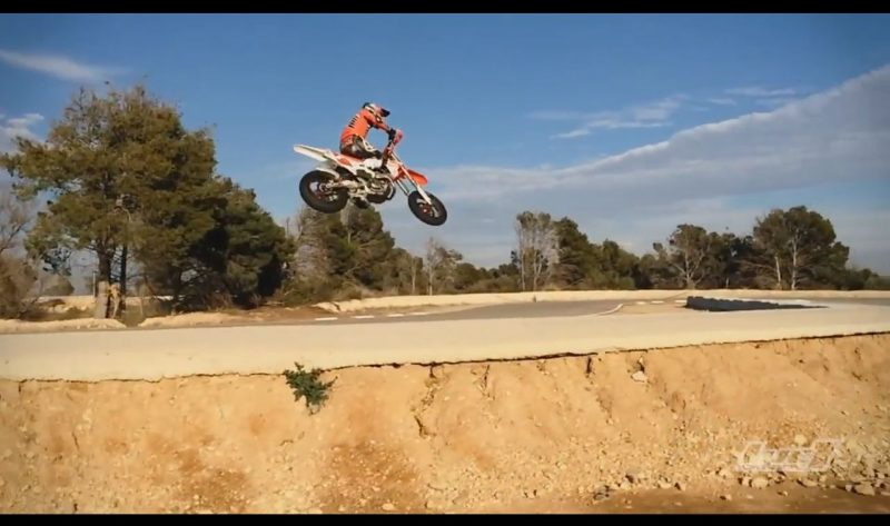 Training supermoto
