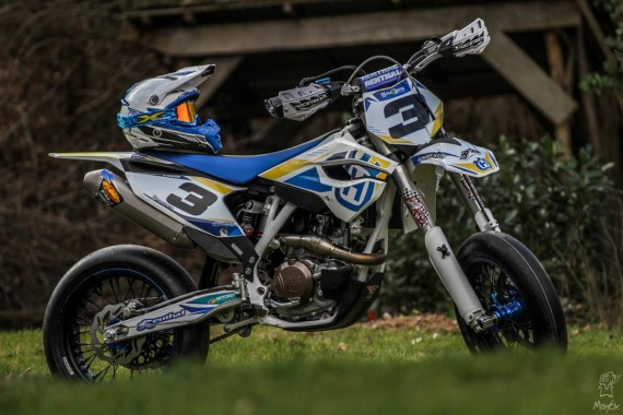 Husqvarna 450 supermotard 2014