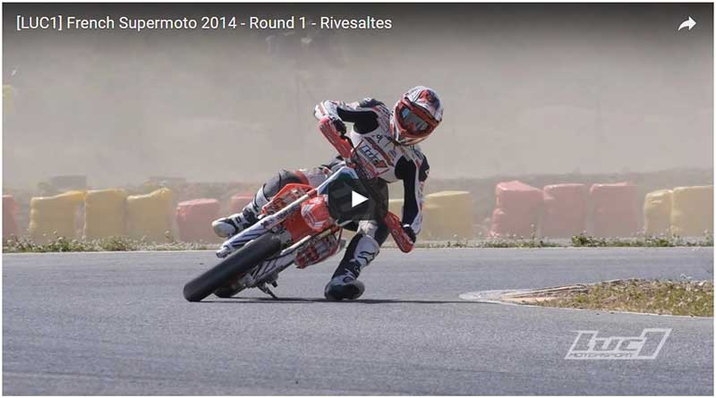 video supermotard Rivesaltes