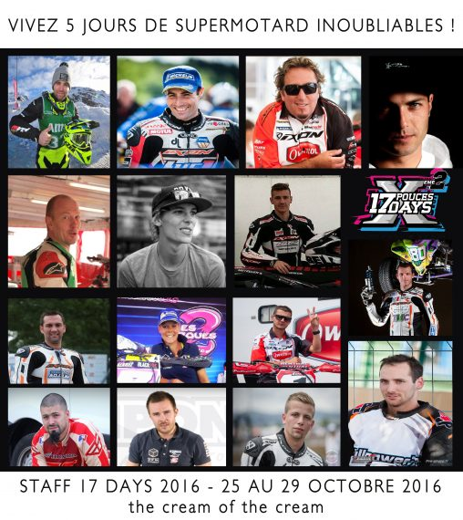 Staff 17 days 2016 supermotard pilote