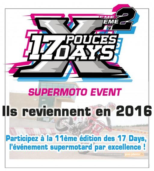 17 days supermoto 2016