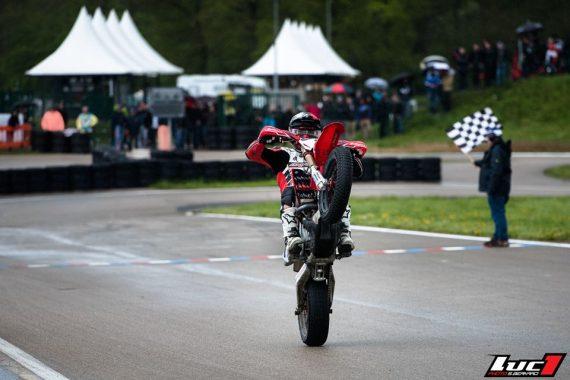 Sylvain Bidart wheeling victoire