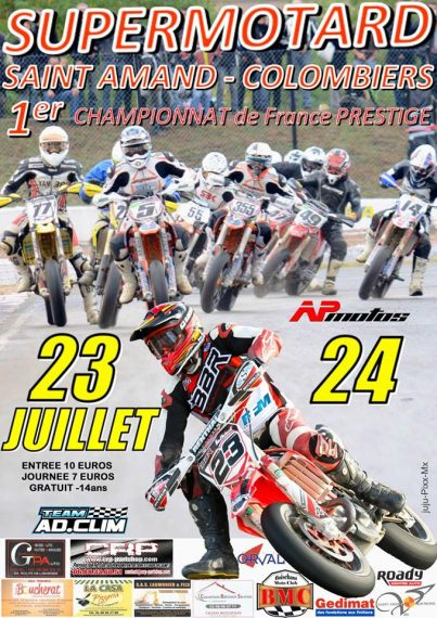 colombiers supermotard 2016 championnat de france