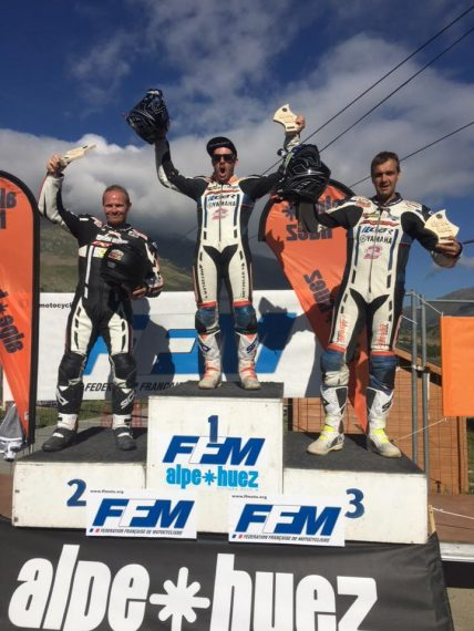 podium alpe d'huez 21016 supermotard
