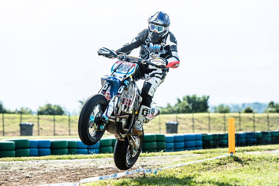 Team TM Supermotard Lewis Cornisch