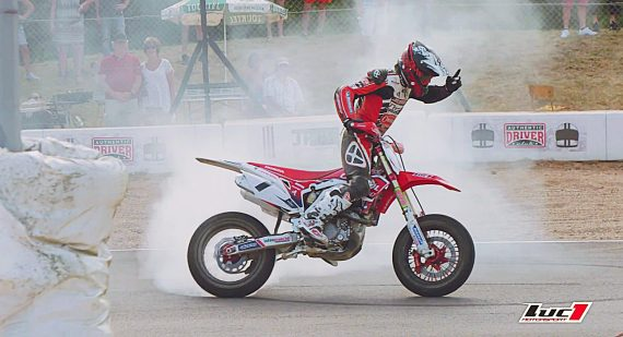 Video course supermotard luc1