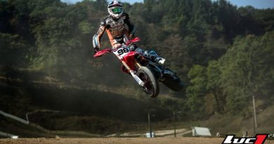 Laurent Fath Honda supermotard