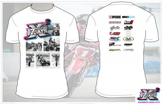 t-shirt supermotard 17 Days