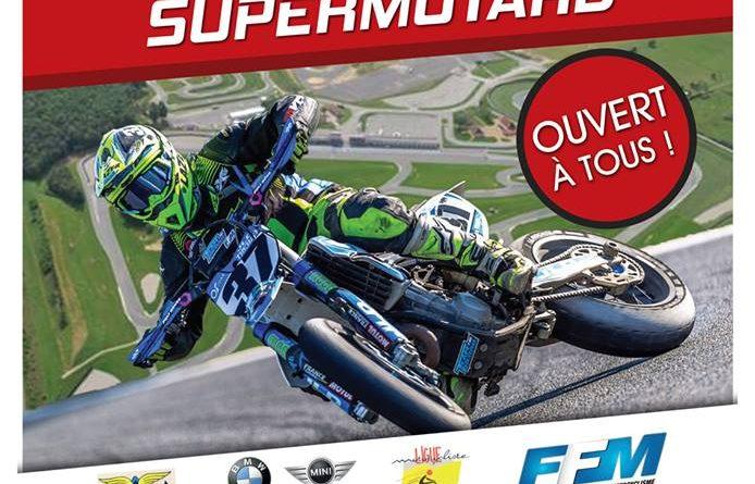 La 1er épreuve du championnat de France Supermotard le 15 et 16 avril – Circuit de Bresse
