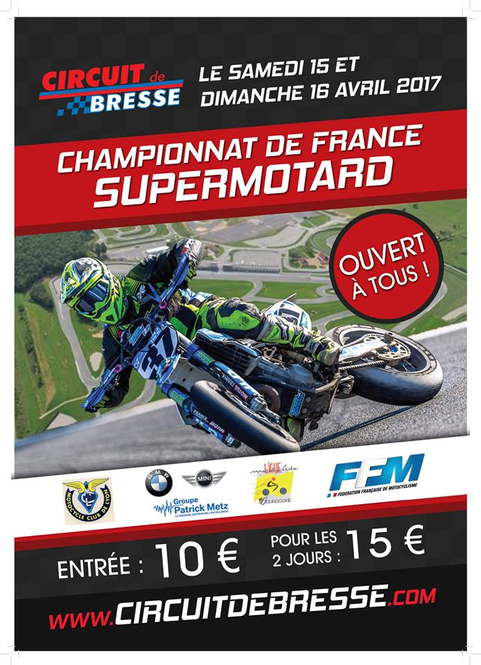 Championnat de france supermotard 2017 Bresse