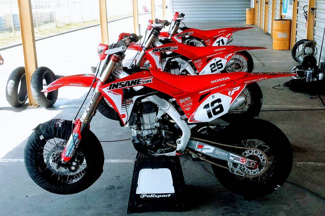 Honda supermotard 450 2017