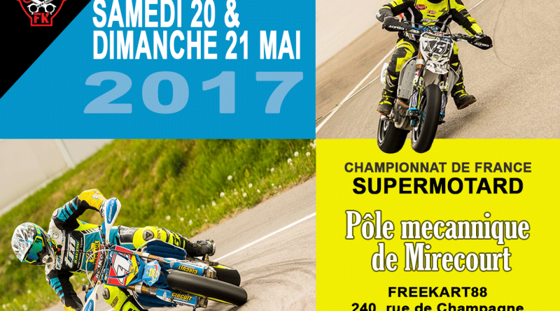 championnat de france supermotard 2017 mirecourt