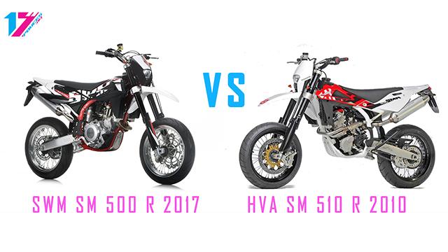 La SWM SM 500 R nouvelle ou ancienne Husqvarna restylée ?