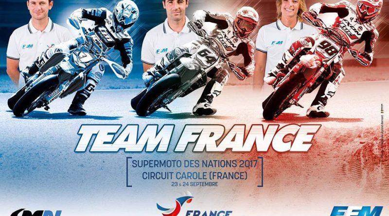 SmofNations 2017 : 7eme titre de Champion du monde Supermotard par équipe pour la France !!!