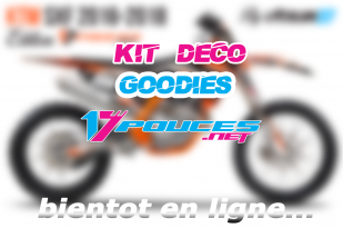 Kit deco supermotard cross personalisé