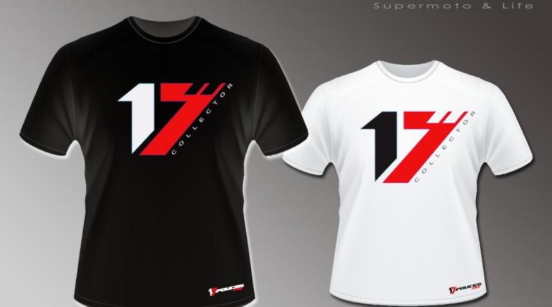 Nouveauté 2018 : look supermotard 17Pouces.net Tee-shirt  – casquette