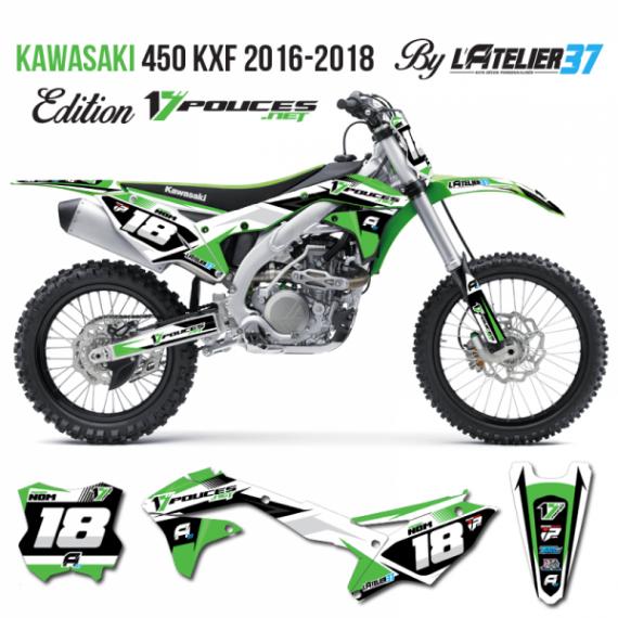 Kit déco Kawasaki KXF 2018
