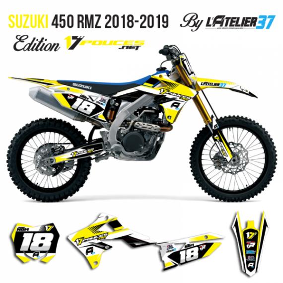 Kit déco Suzuki rmz 2018