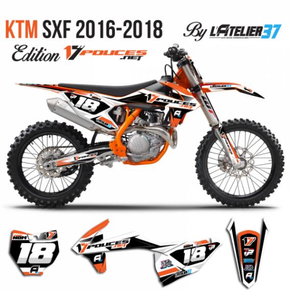 Kit déco KTM SXF 2018