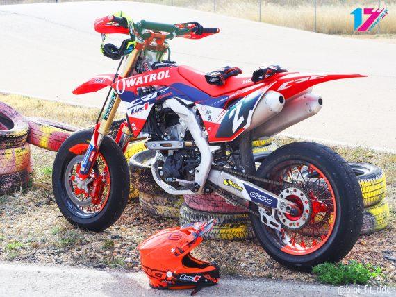 Honda CRF 2018 supermotard Luc1