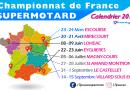 Calendrier 2019 Supermotard – Championnat de France FFM