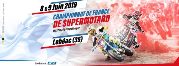 Championnat Supermotard à Lohéac trophée challenger et Prestige
