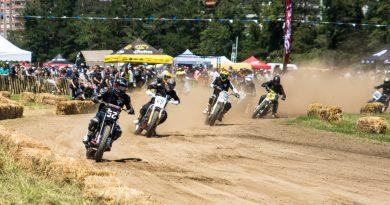 El Rollo race Flat track