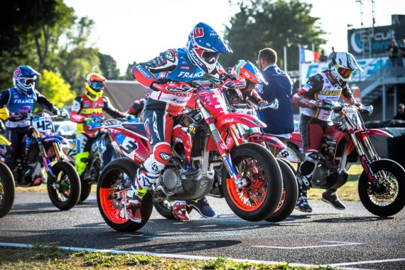 Supermotard des nations Sylvain Bidart