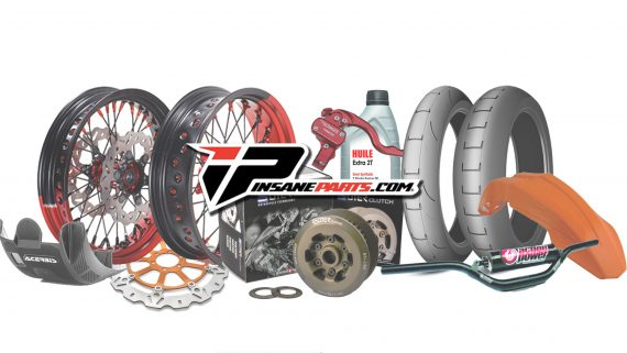 insane-parts pieces pour les motos supermotard enduro cross