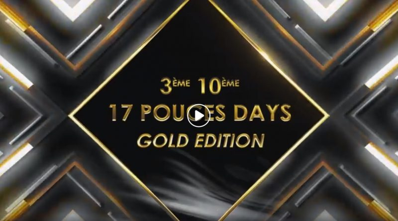 17 Pouces DAYS 2020 Gold Edition