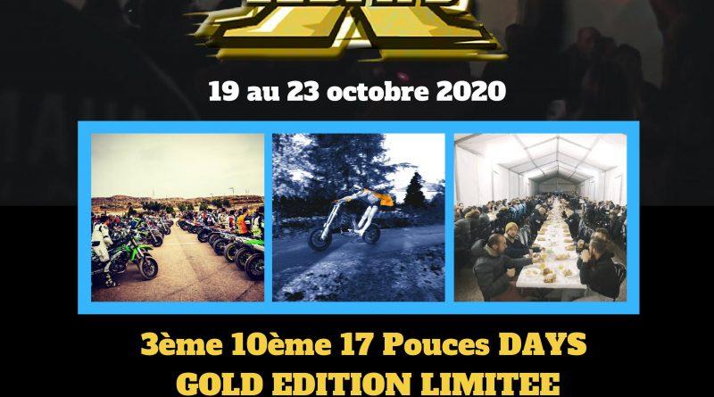 Inscriptions 17 Pouces DAYS 2020 / Changement de dates !