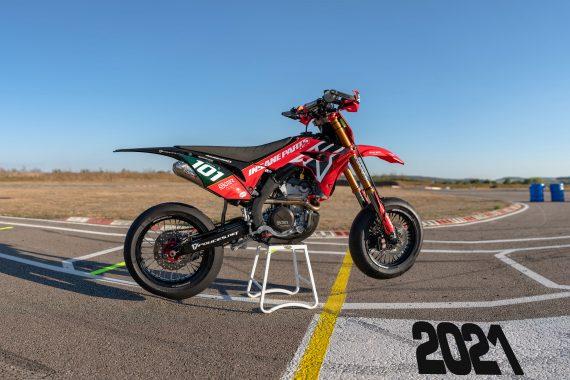 honda supermotard CRF racing